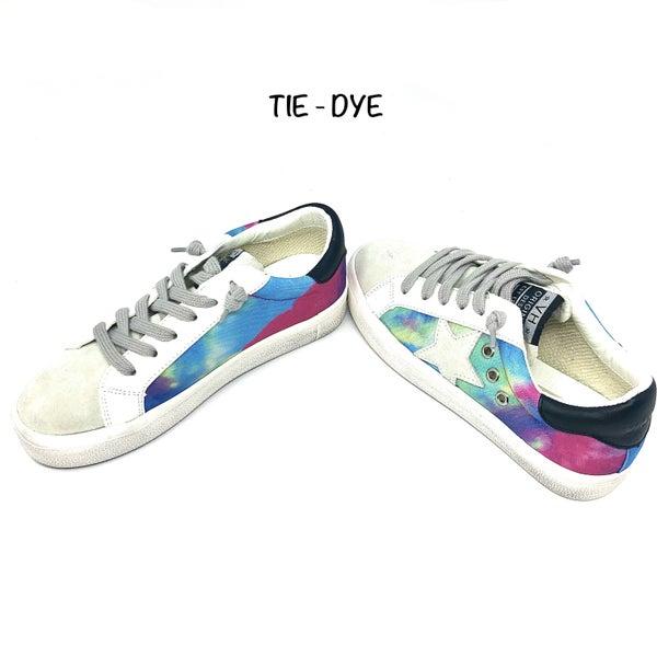 Prime Footwear - Tie dye multi sneaker