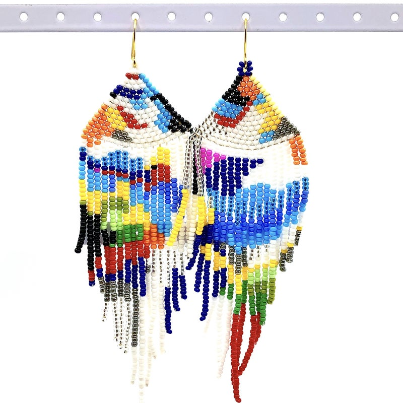 NATIVO SOUL - Maria Elena Beaded Earrings