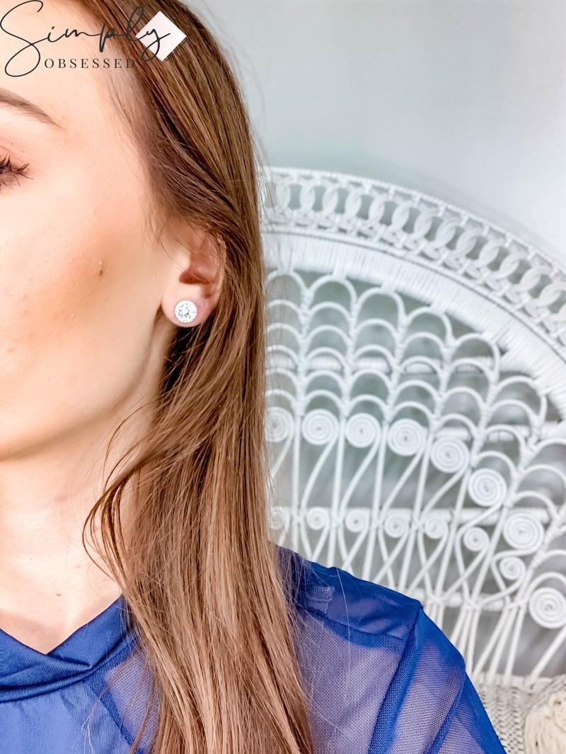 NYJ - Halo Stud Earrings