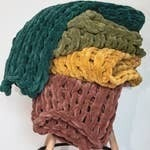 Chenille Chunky Knit Throws