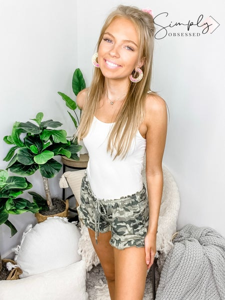 POL - Cozy Camo Shorts