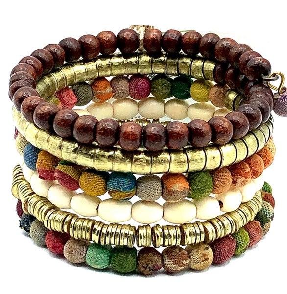 WORLD FINDS - Harvest Coiled Bracelet