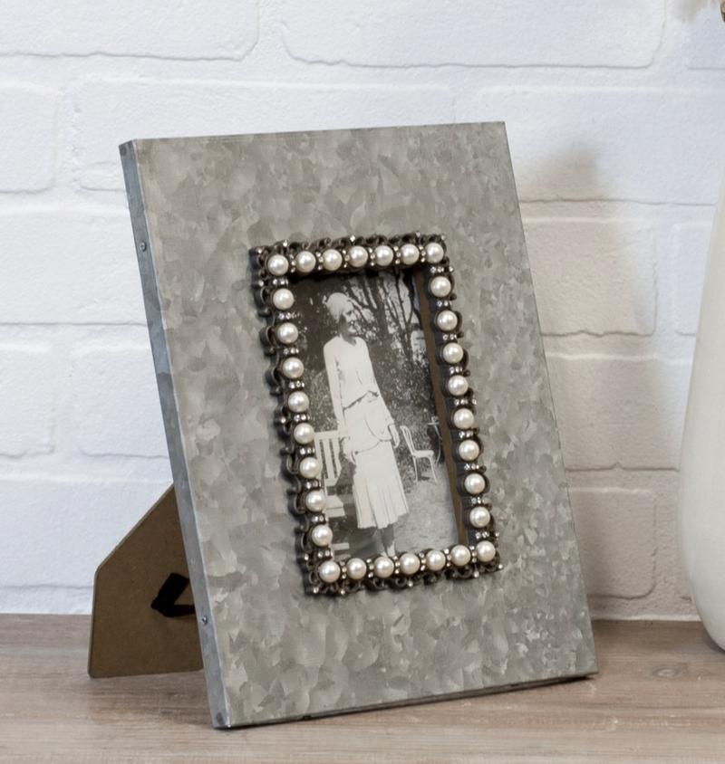 VIP ATL - Metal Galvanized Finish Frame 4X6