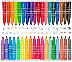 FAIRE-DOUBLE UP 2-IN-1 MINI MARKER TRAVEL SET