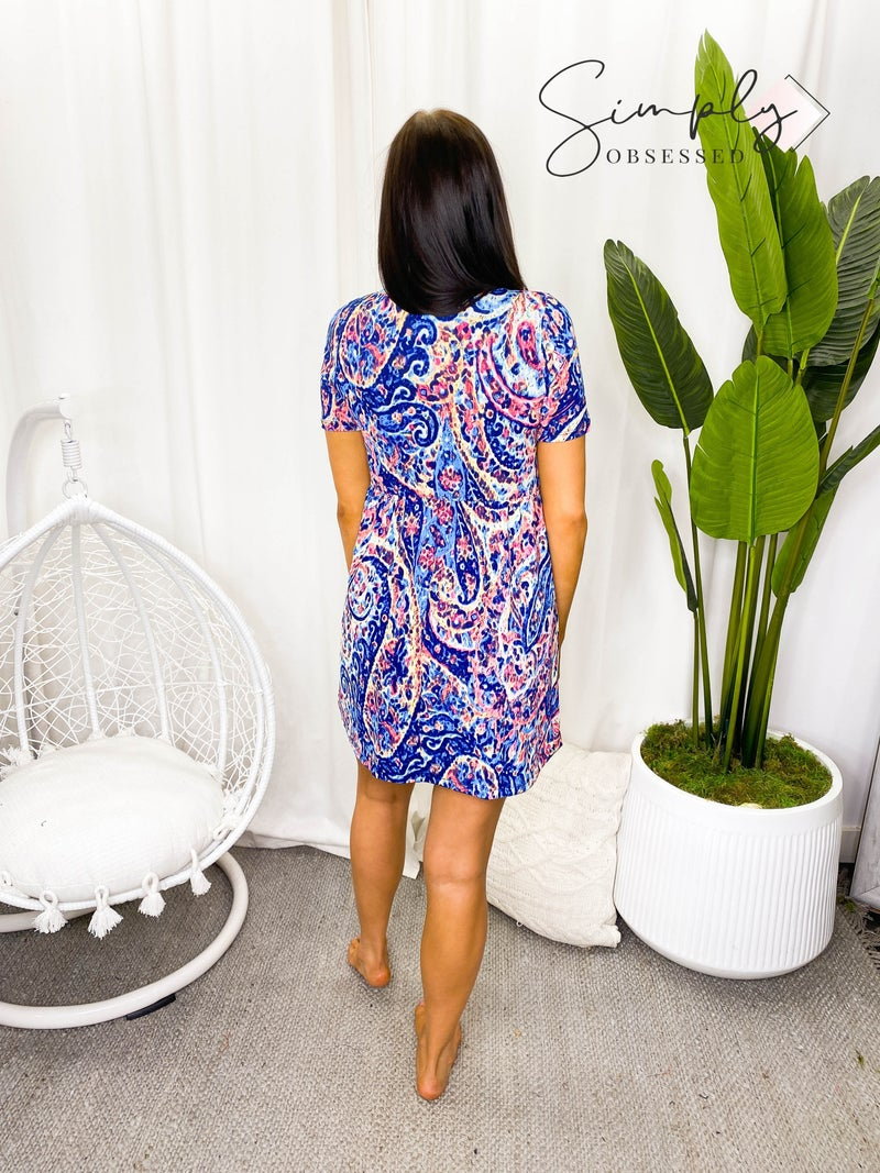 Sew in Love - Short Sleeved Dress (plus)