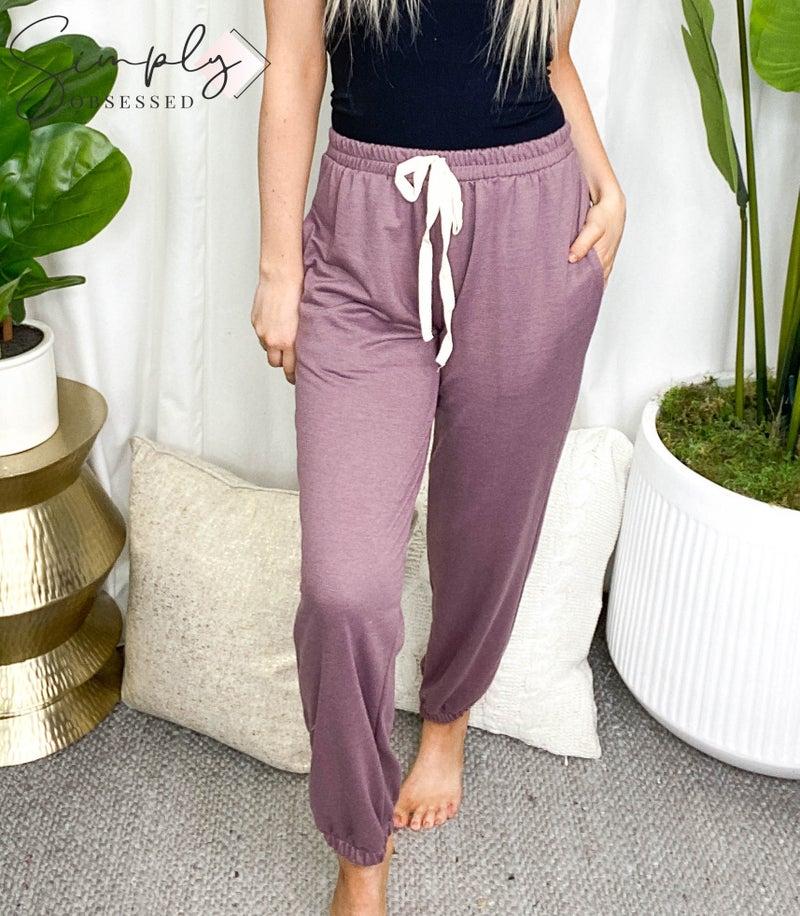 Vanilla Bay - Elastic waist lounge wear joggers