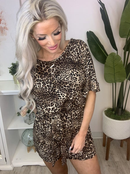 Andree By Unit - Animal print jumpsuit