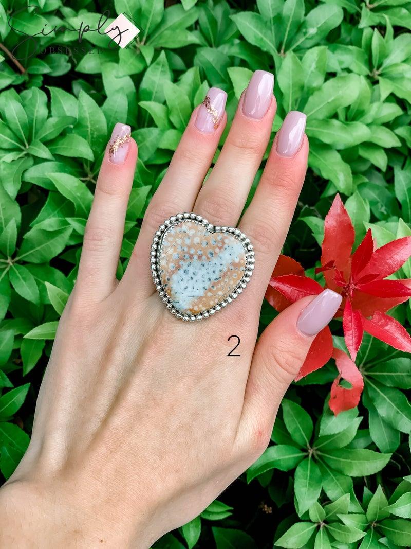 M & S - Bambi Heart Ring