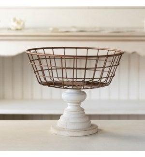 VIP ATL - Antique Finish Copper Colored Basket