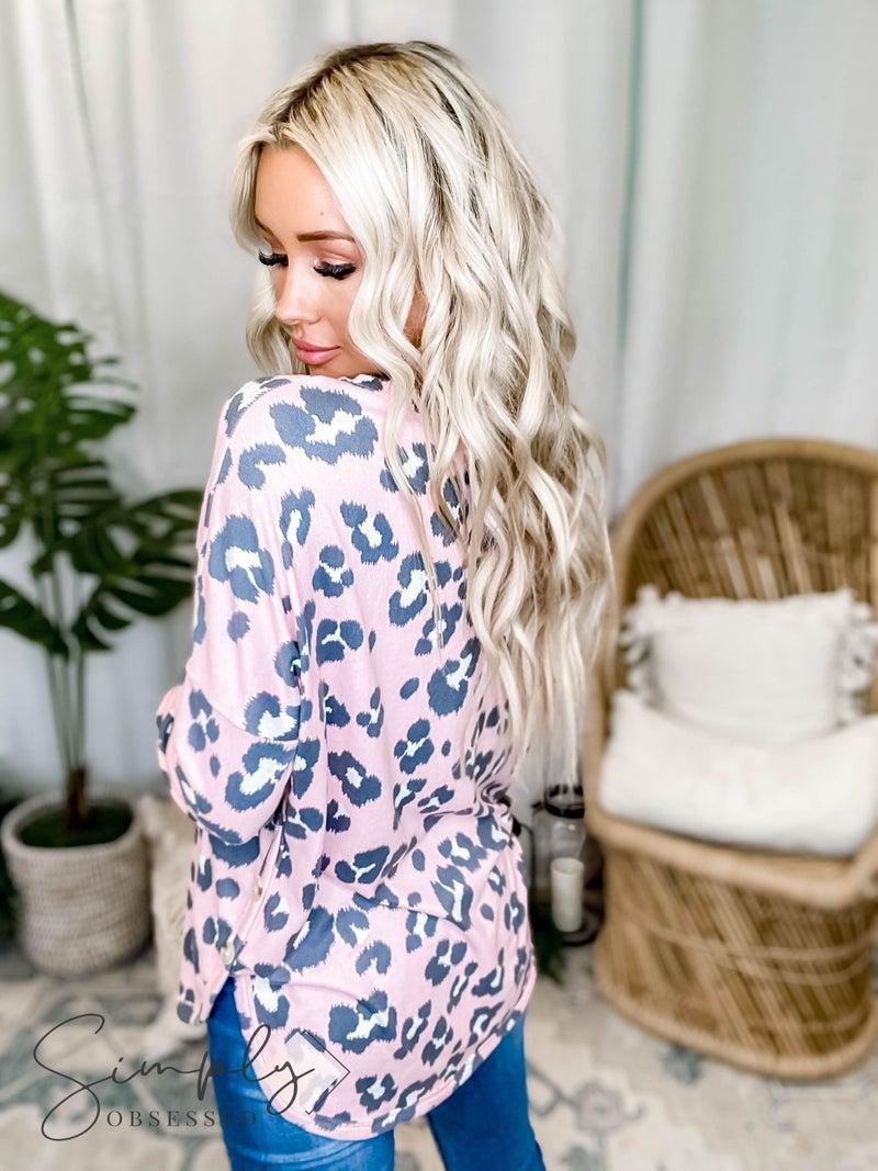 White Birch LA First Dibs - Long Sleeve Top