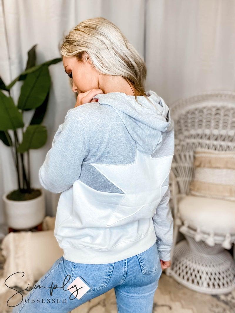 Mono B - Rising Star Color Block Hoodie Pullover