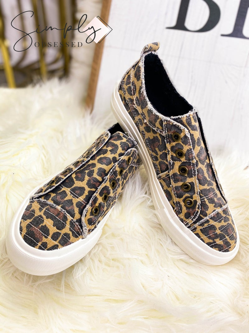 Gypsy Jazz - Fabric Slip On Sneakers