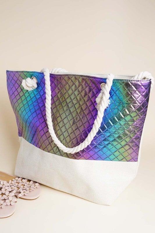 Amerikan Basics - Rope style handle tote bag