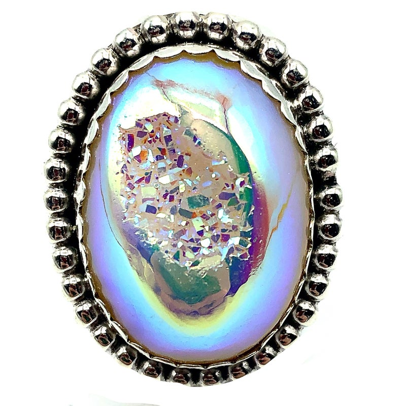 M&S - Opal Druzy Ring