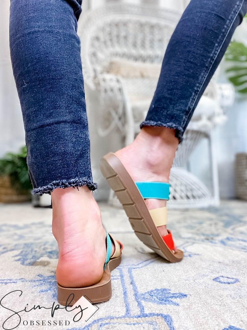Corkys - 3 Strap Sandal