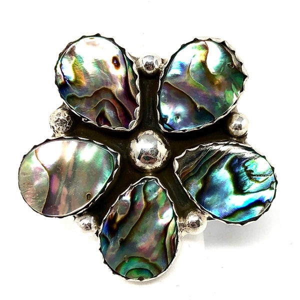 M&S Abalone Abs Ring