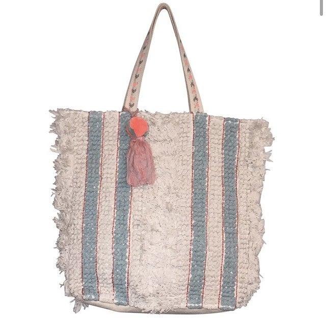 Chloe & Lex - Stella Stripes Tote Bag