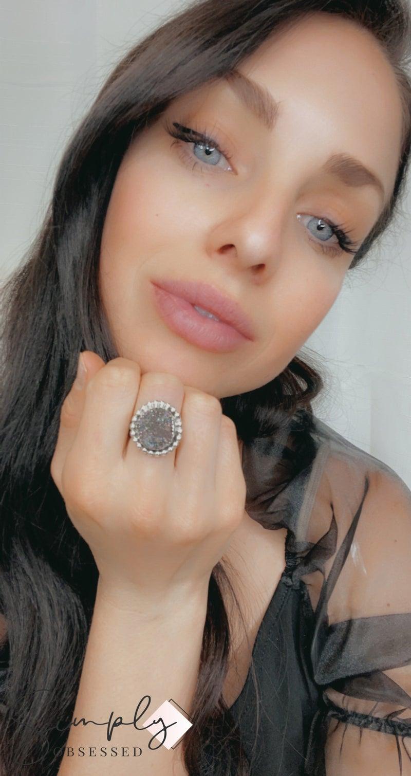 M&S - Druzy Rings
