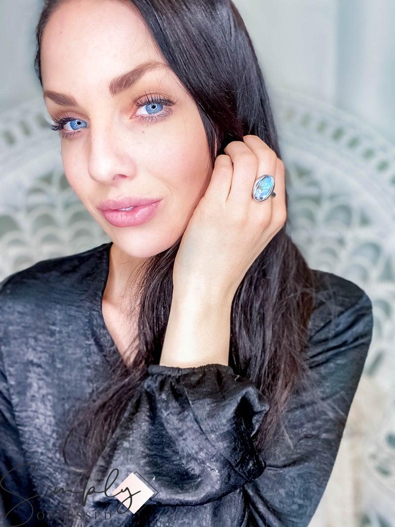 Galaxy Style Ring