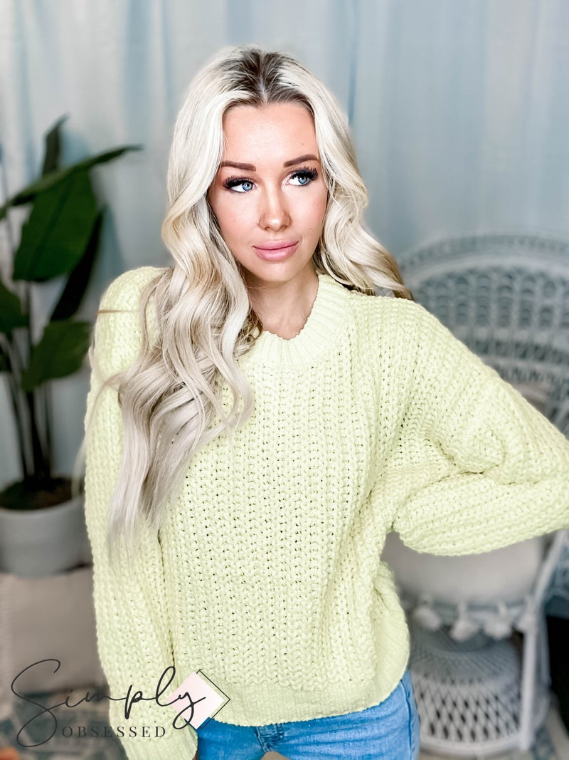 Lumiere - Over sized knit sweater
