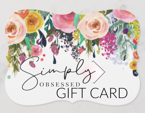 Simply Obsessed Gift Card