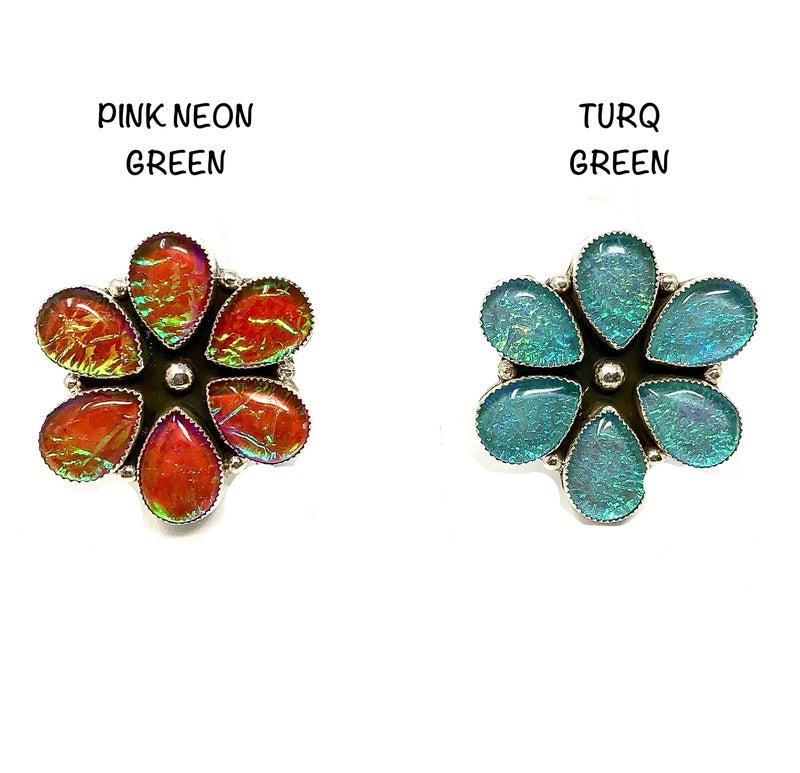 M&S Iridized Opal Ring