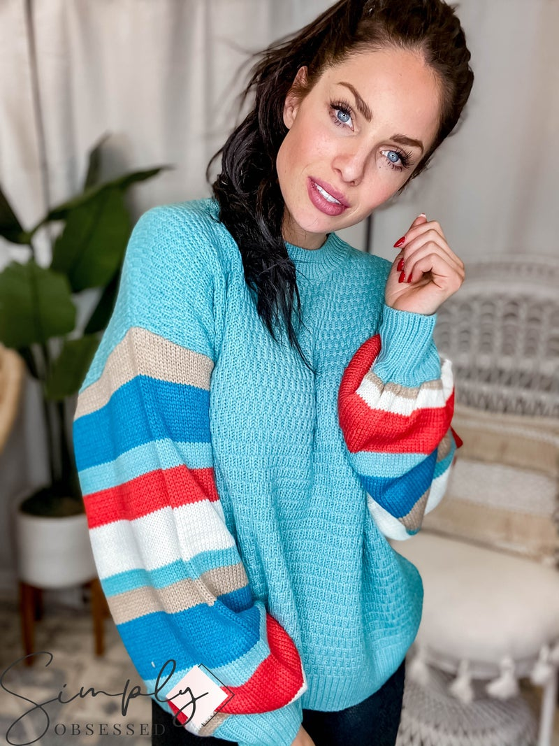 Lily Clothing - Stripe Sweater