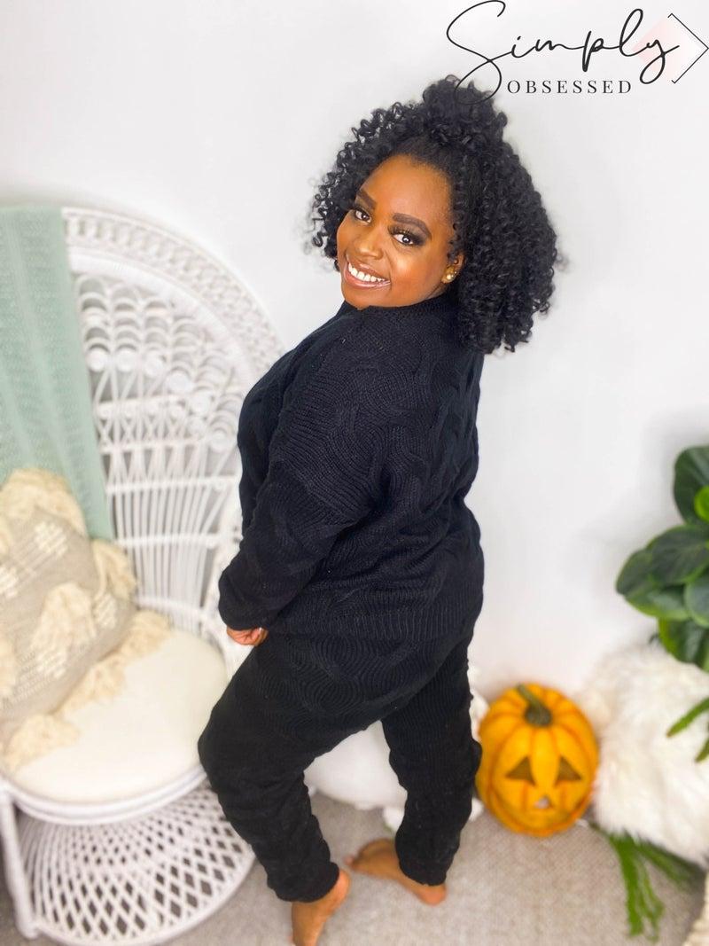 BiBi - Textured sweater pants