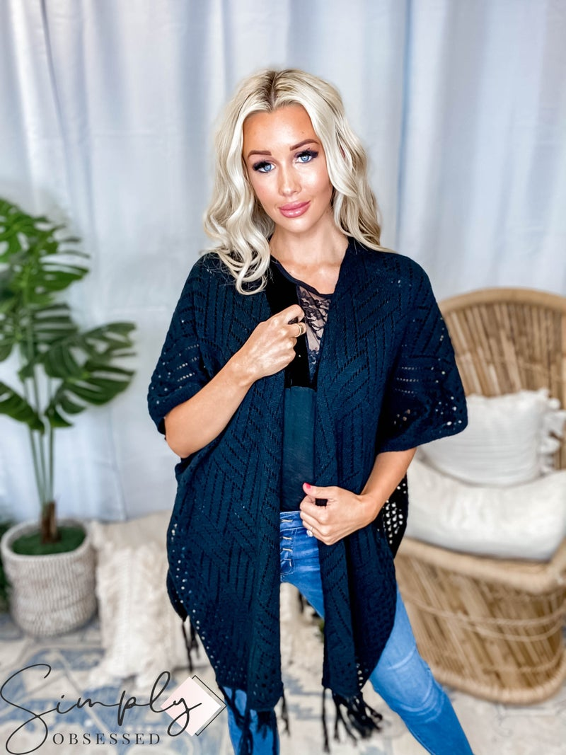 EE:Some - Weaving Shawl Sweater Cardigan