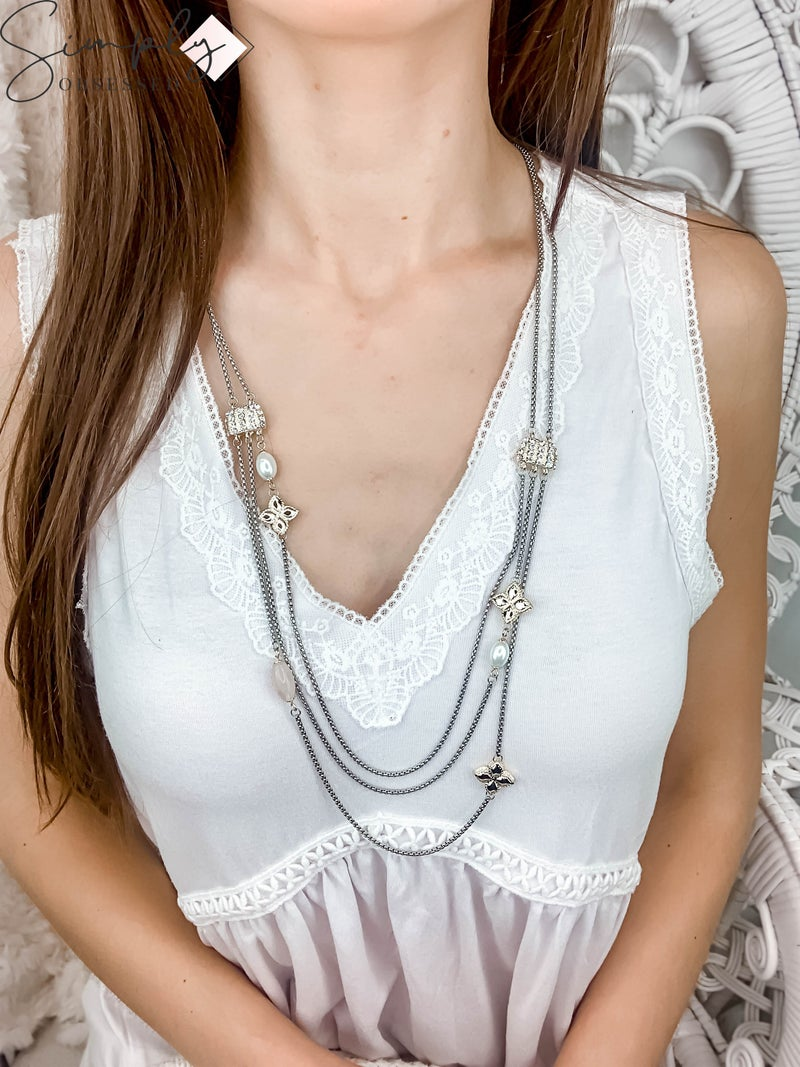 NYJ  - Vintage Layered Necklace