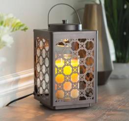 Garden candle warmer lantern oil rubbed bronze