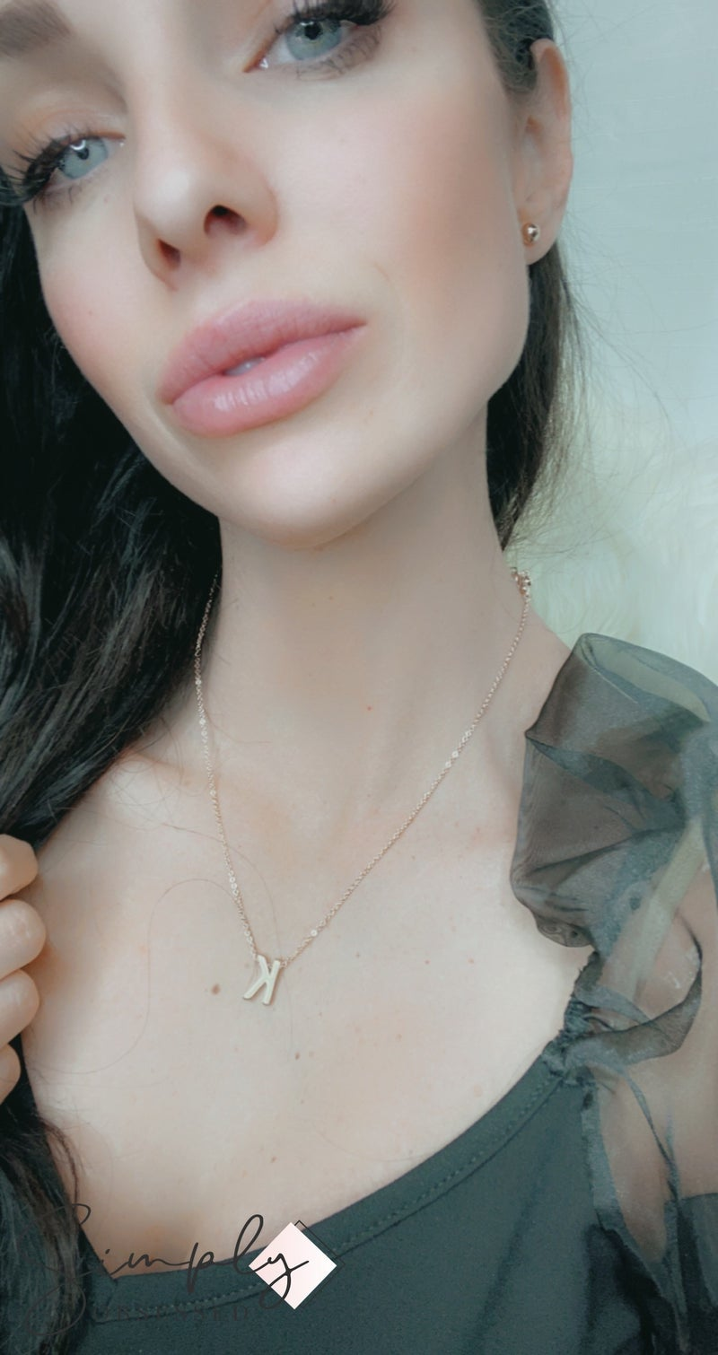 Urbanista - Initial Charm Necklace