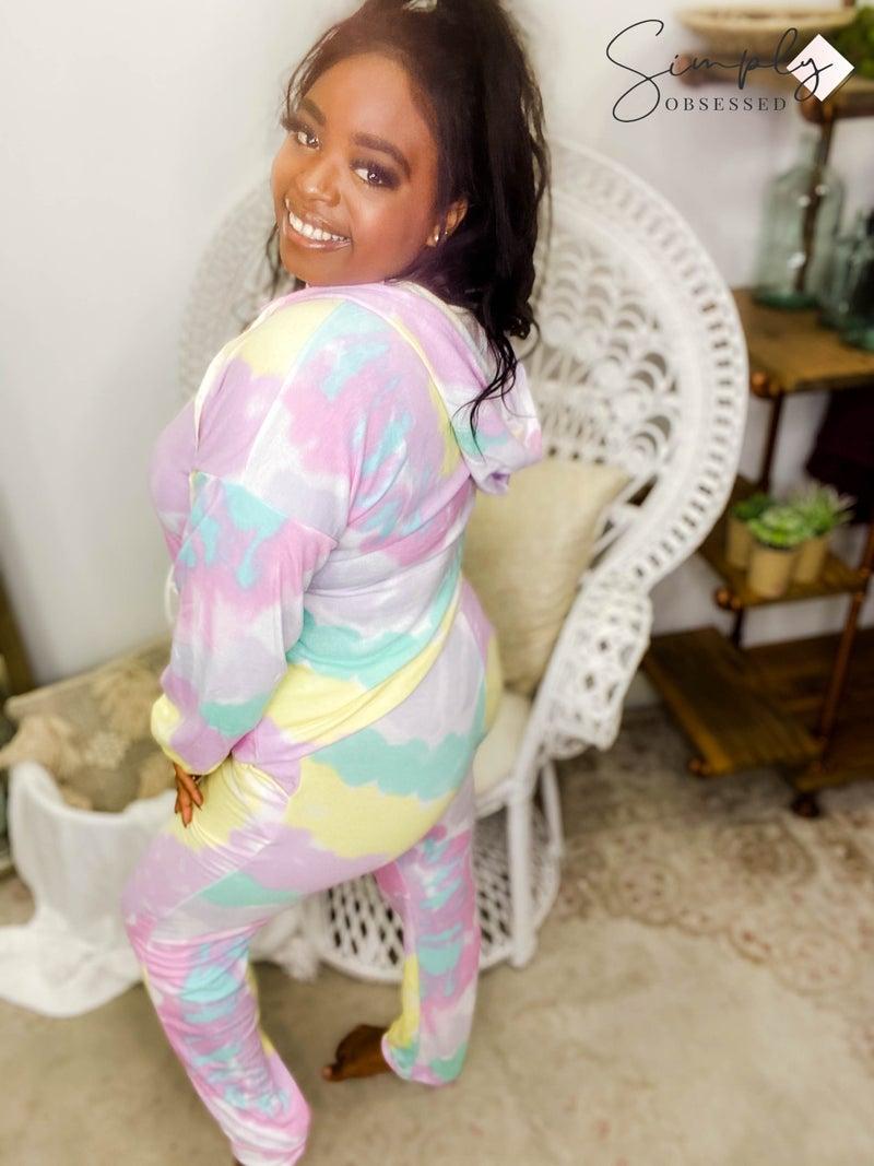 BiBi - Tie dye lounge wear pants