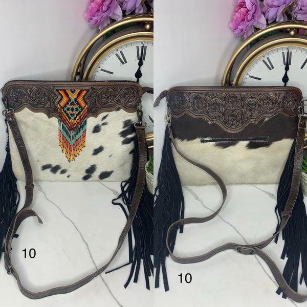 American Darling - Leatherwork crossbody medium purse
