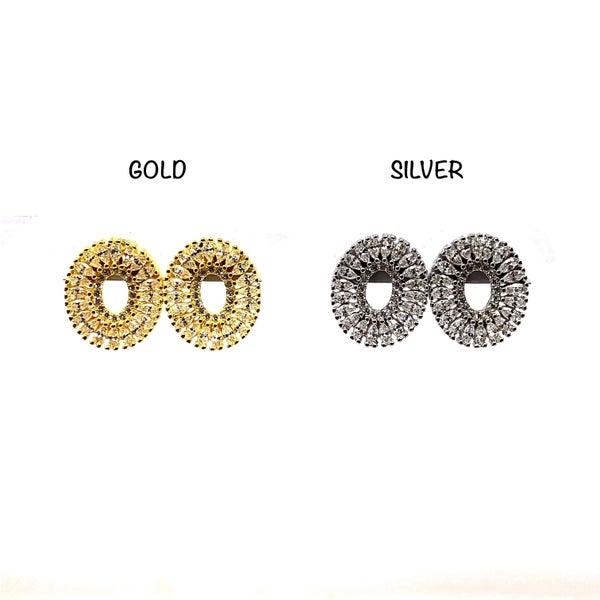 Stud CZ Earrings