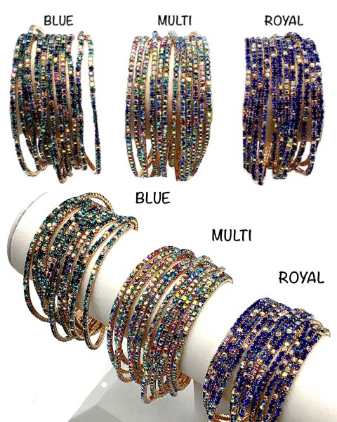 Multi Strand Bracelet Set
