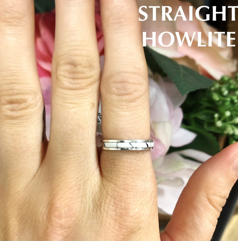 M&S Sterling Silver - Inlay Styled Ring