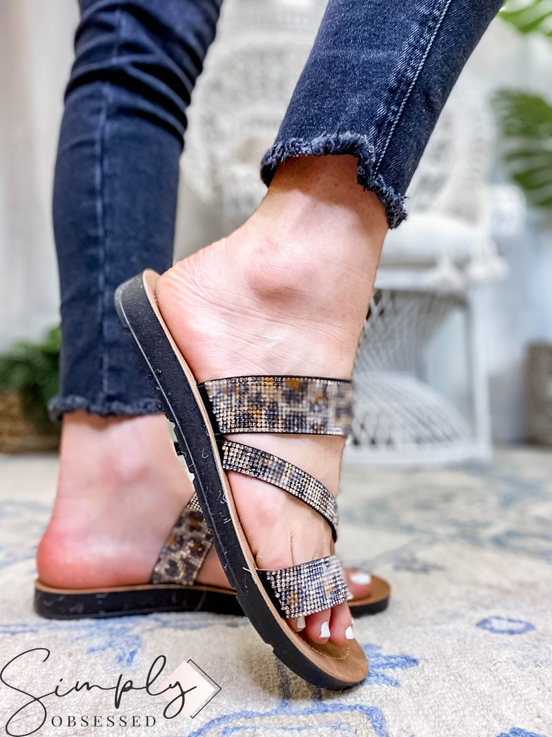 Corkys - Double Cross Strap Sandal