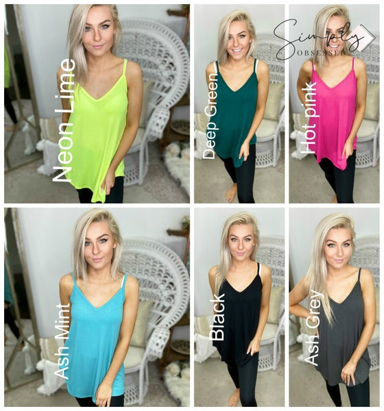 Front and back reversible cami top(plus)