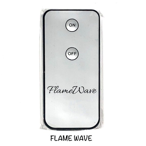 The Light Garden - Radiance 10 button remote control and Flame wave remote control