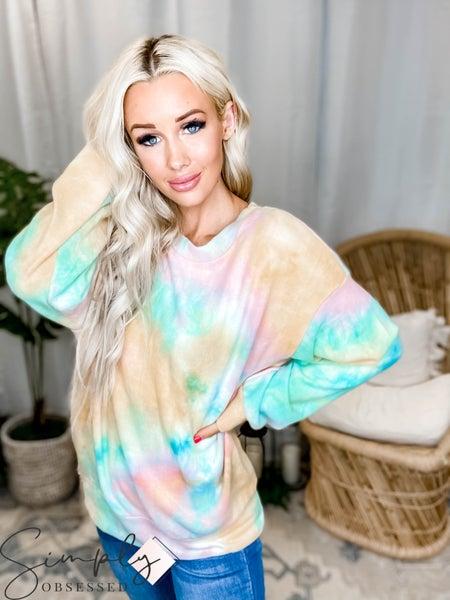 White Birch LA First Dibs - Long Sleeve Sweater