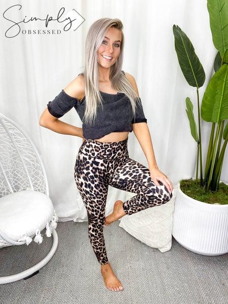 Rae Mode - Animal print yoga pants