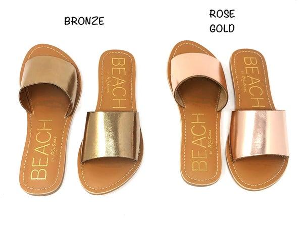 Open toed strap sandal