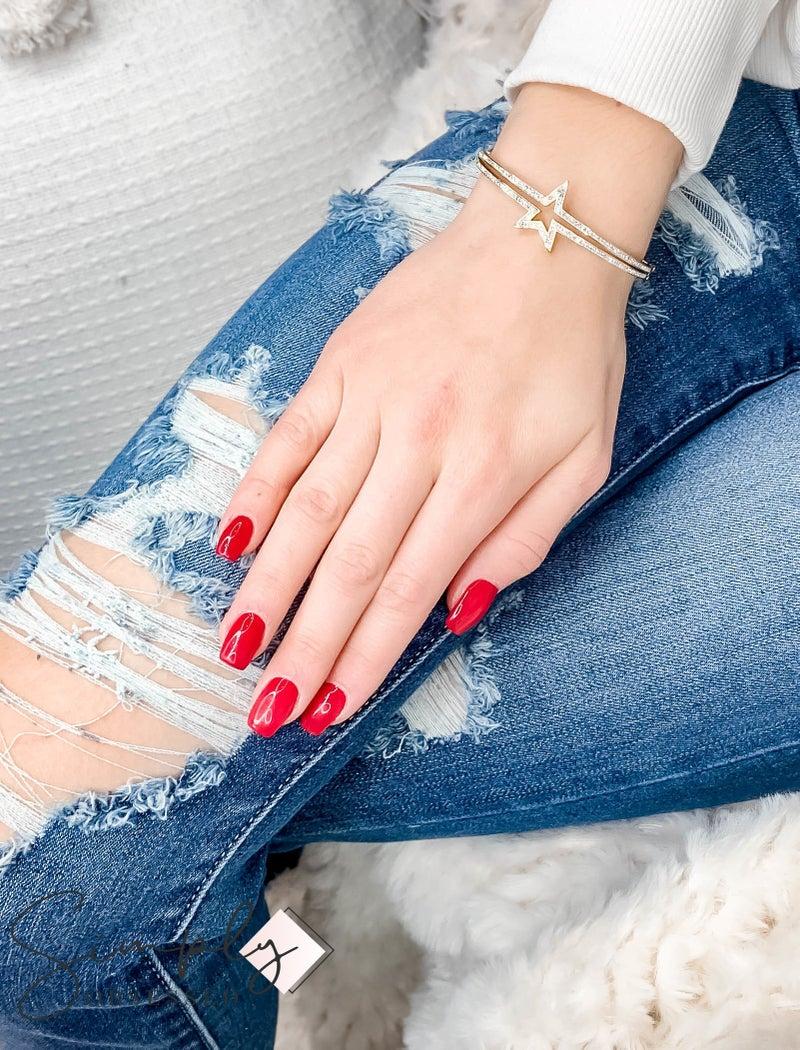 NYJ - CZ Star Bracelet