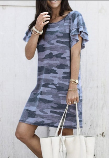 Tracies - Camo Dress