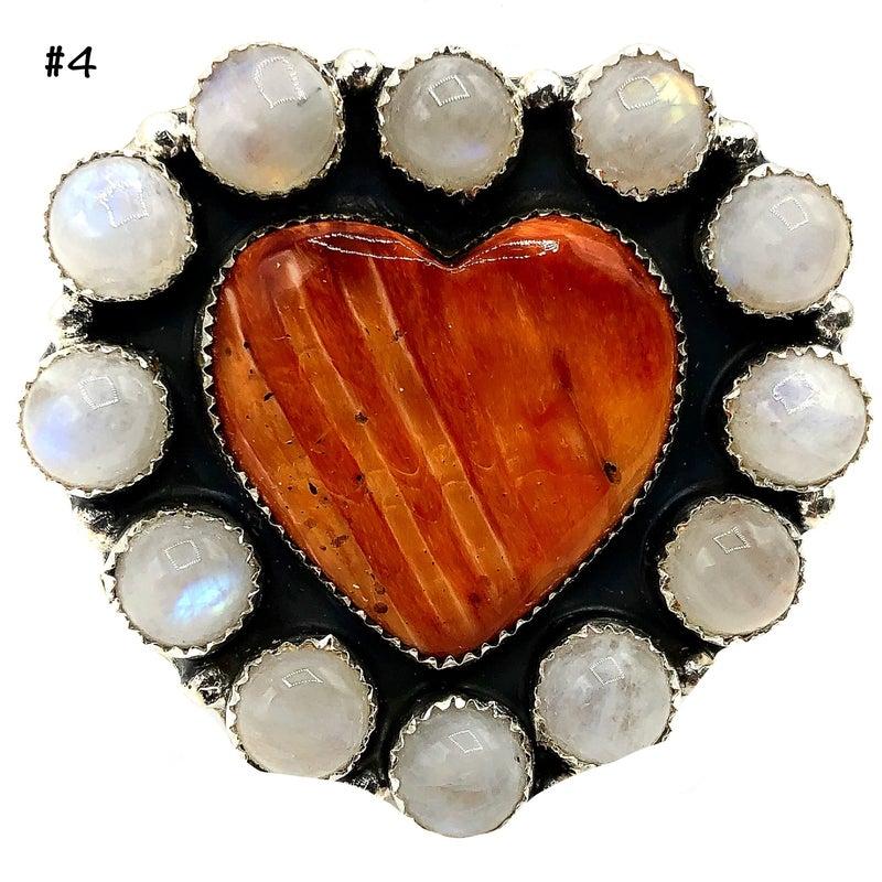 M & S - Medium Orange Spiny Ring