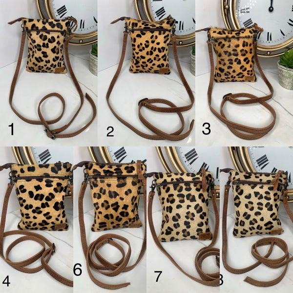 American Darling - Cheetah print cross body bag