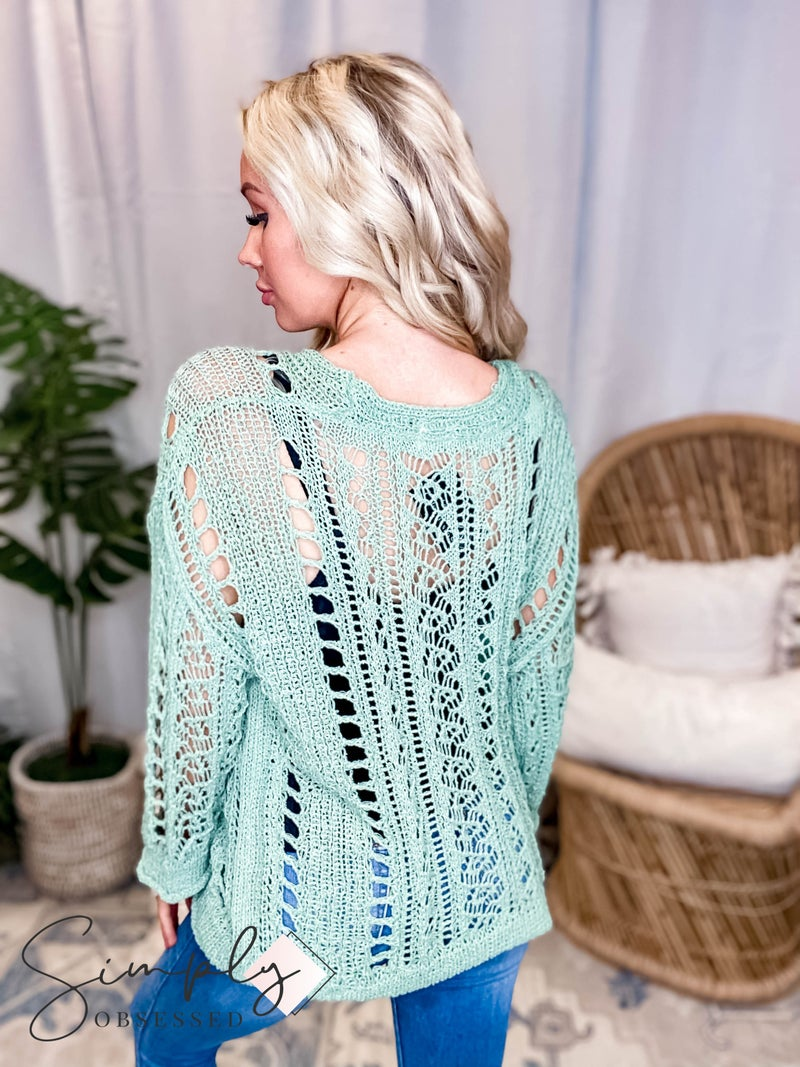 POL - Knit Oversized Sweater