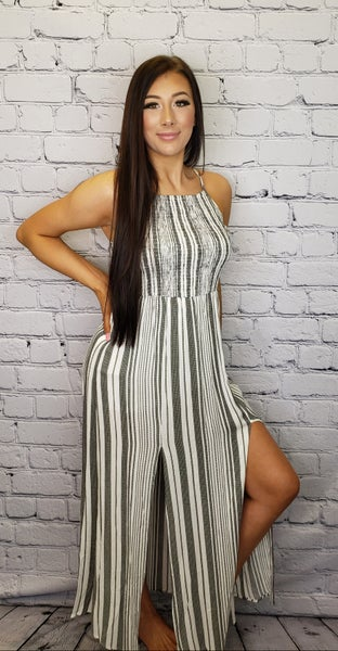Staccato - Smocked chest maxi dress