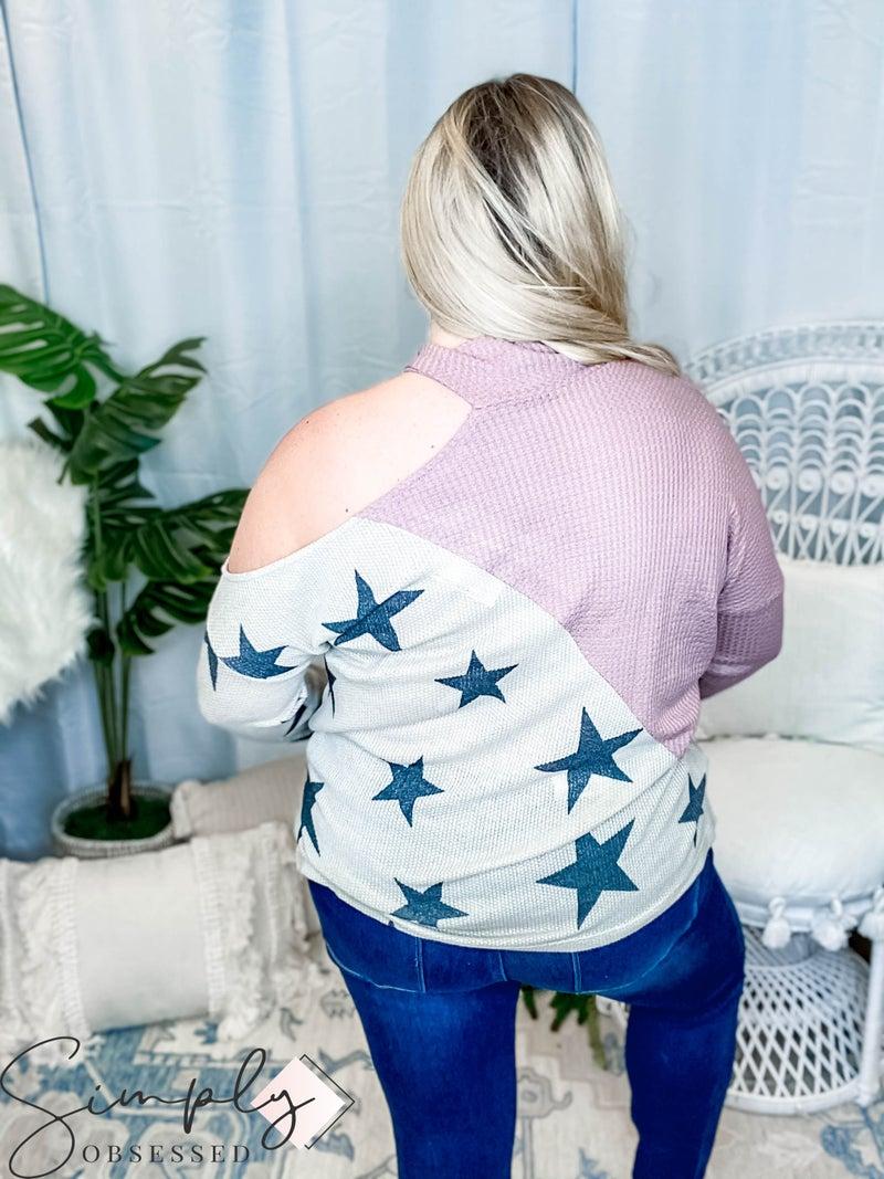 Oddi - Long sleeve turtleneck cold shoulder solid knit top(All Sizes)